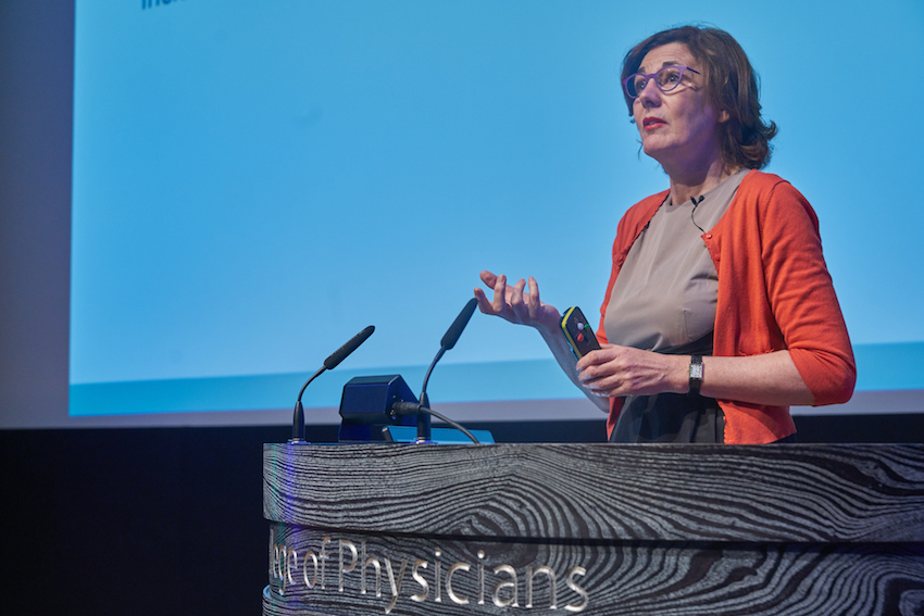 Vivienne Parry provided dazzling insight into the future of personalised medicine -